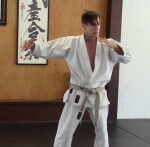 Rick Hotton sensei. An awesome karate-ka.